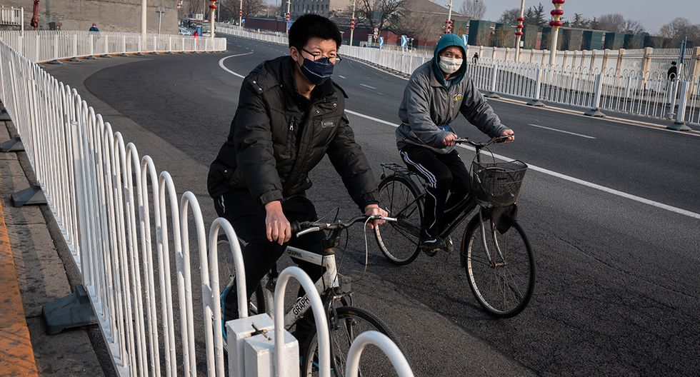 El Gobierno chino busca evitar el ingreso de infectados con coronavirus de otros países. (Foto: AFP)