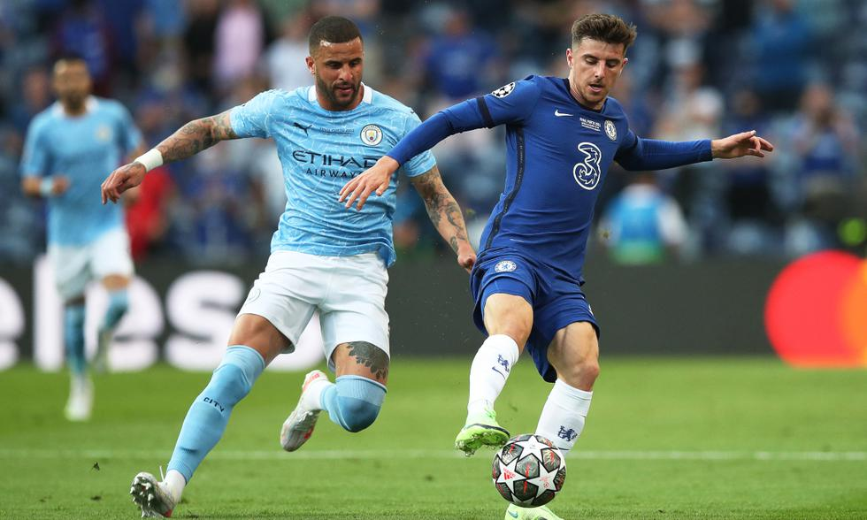 Chelsea y Manchester City juegan por la gran final de la UEFA Champions League desde el Do Dragao de Oporto. | Foto: AFP
