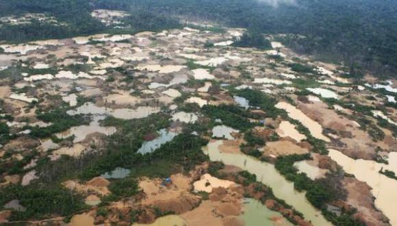 Ubican 30 campamentos de minería ilegal en Puno y Madre de Dios