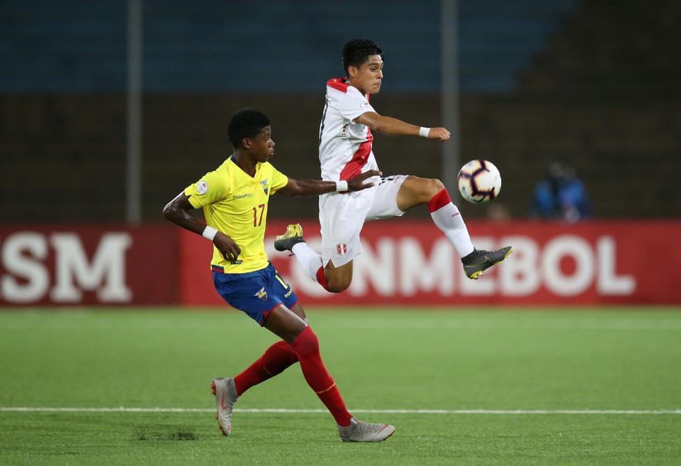 Perú vs. Ecuador: mira las mejores imágenes del partido por el Sudamericano Sub 17. (Foto: Fernando Sangama / GEC)
