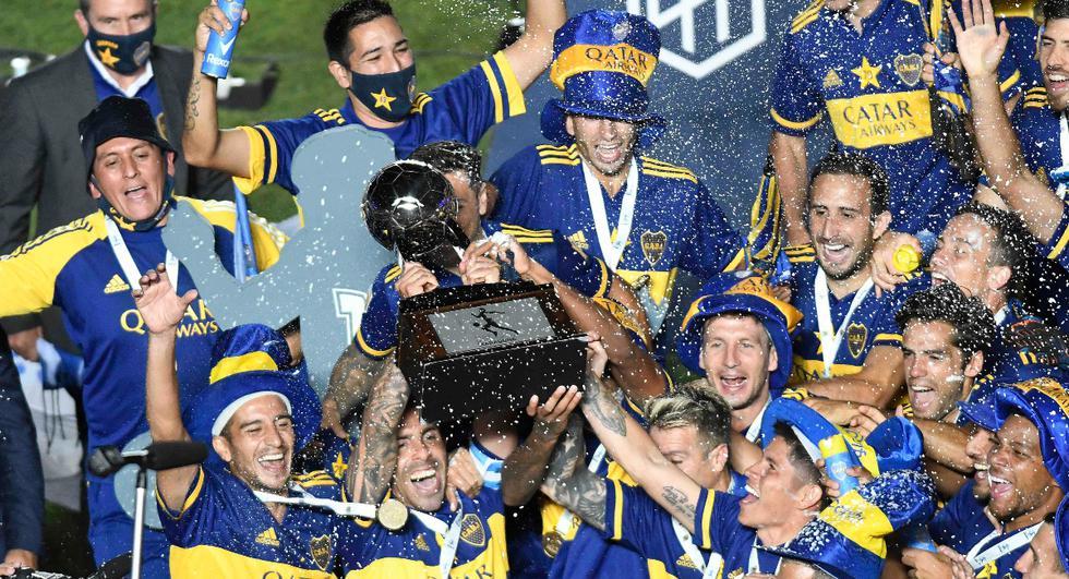 Boca Juniors y Banfield se enfrentaron en la final de la Copa Diego Maradona | Foto: REUTERS