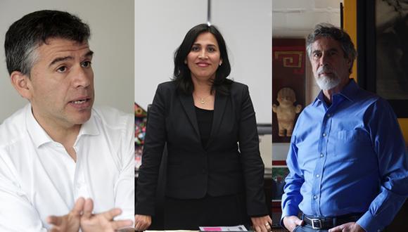 Lista liderada por Julio Guzmán deberá competir en las internas del Partido Morado. (Fotos: GEC)