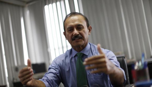 Otto Guibovich, vocero de la bancada de Acción Popular. (Foto: GEC)