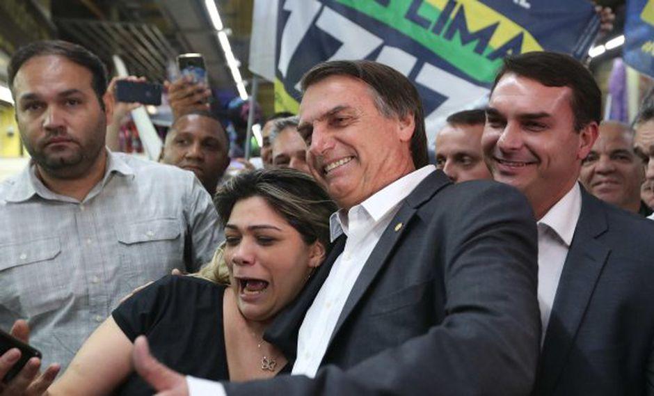 """Bolsonaro afirmó que Lula, preso desde abril, """"tenía todo para ser un gran presidente"""", pero """"intentó que Brasil fuera de un solo partido"""". (Foto: EFE)"""