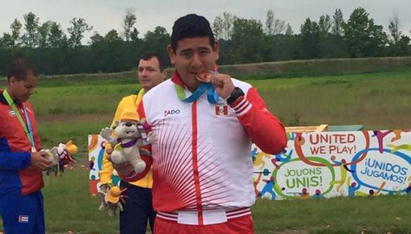 Toronto 2015: peruano Marko Carrillo ganó bronce en tiro