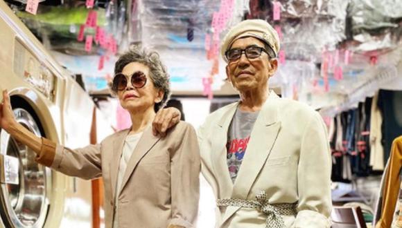 Estos ancianos de Taiwán no dejan de impactar en la red social. (Foto: wantshowasyoung / Instagram)