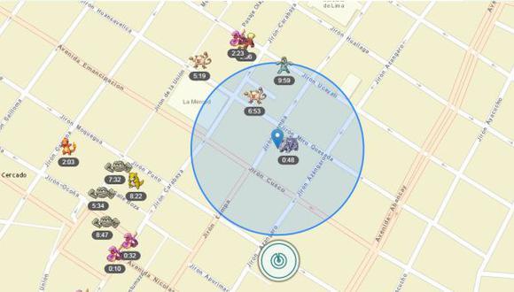 Pokémon Go: conoce el único radar que está funcionando