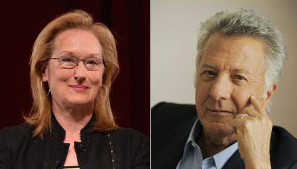 Meryl Streep y Dustin Hoffman. (Fotos: Agencias)