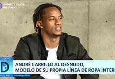 André Carrillo revela que no tendrá más hijos