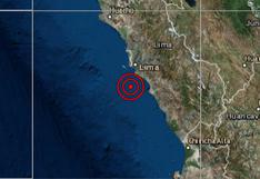 Callao: sismo de magnitud 3,5 se reportó esta madrugada, señala IGP