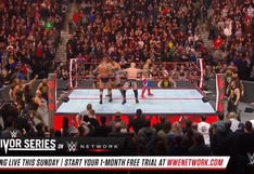 WWE Raw: revive todas las luchas del show de la marca roja de cara a Survivor Series con la invasión de NXT