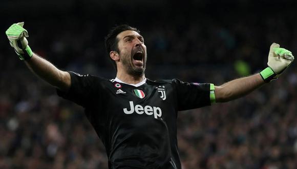 Buffon renovó con la Juventus y espera cumplir esta temporada el único título que le falta en sus palmarés: la Champions League. (Foto: Reuters)