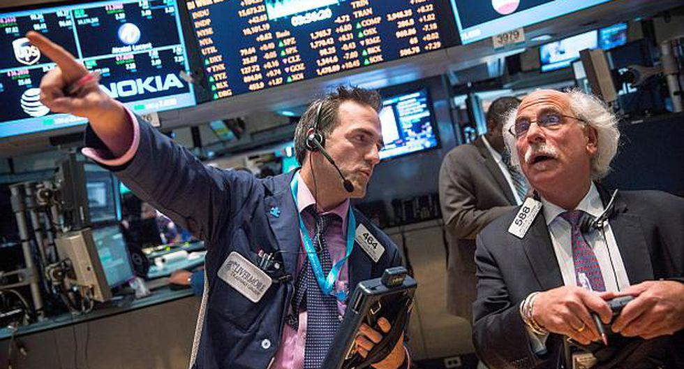 La casi totalidad de los sectores presentaban ganancias en Wall Street. (Foto: AFP)