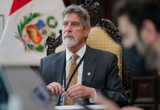 Francisco Sagasti dialogó con bancadas de Fuerza Popular, Acción Popular, Podemos Perú y Descentralización Democrática