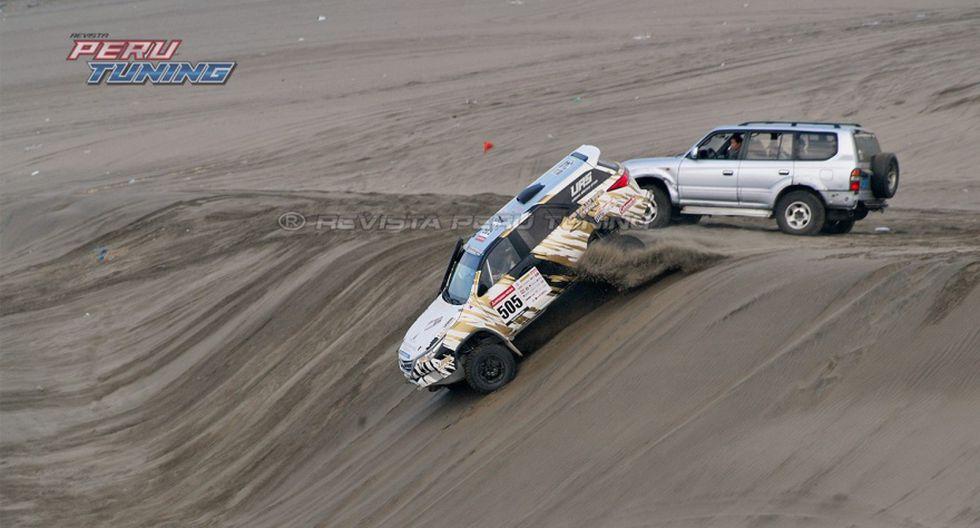 Baja Inka: espectacular accidente de camioneta durante carrera - 2