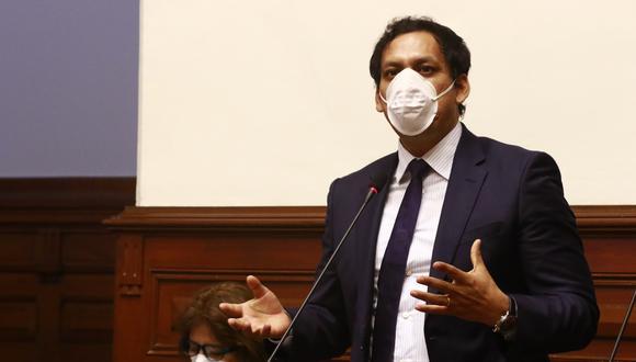 El primer vicepresidente del Congreso, Luis Valdez (Alianza para el Progreso) se pronunció sobre la interpelación al ministro de Educación, Martín Benavides (Foto: Congreso)
