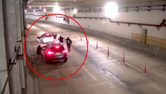 Lamsac se pronunció sobre el asalto ocurrido en el túnel de la Línea Amarilla. (Imagen: Twitter)