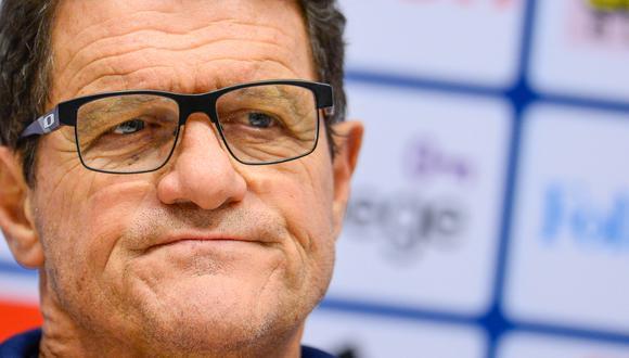 Capello, de 74 años, actualmente se desempeña como analista de partidos. (Foto: AFP)