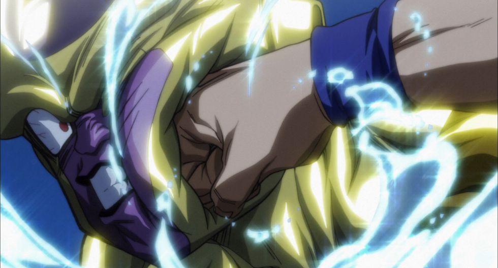"""Dragon Ball Super"". Freezer vs. Gokú. Ambos enemigos se enfrentaron momentos antes del Torneo de Poder. La lucha fue breve, pero intensa. (Fuente: Toei Animation)"