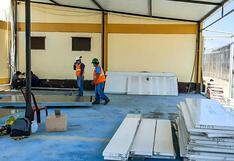 Chiclayo: instalan tres módulos temporales en el penal para aislar a internos con síntomas de COVID-19