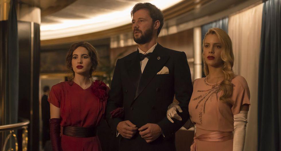 """""""Alta mar"""" de Netflix muestra el misterio detrás de un crimen cometido a bordo de un trasatlántico. (Foto: Netflix)"""