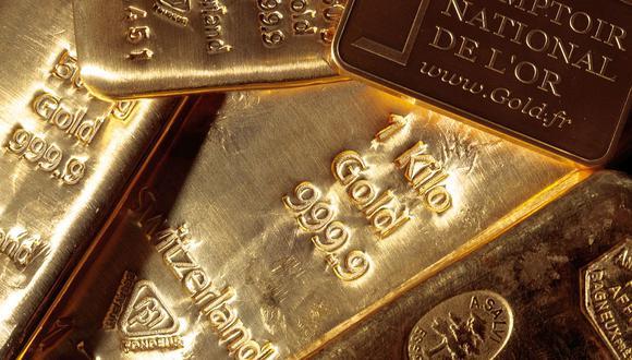 Los futuros del oro en Estados Unidos bajaban un 0,1% a US$1.854,80. (Foto: AFP)