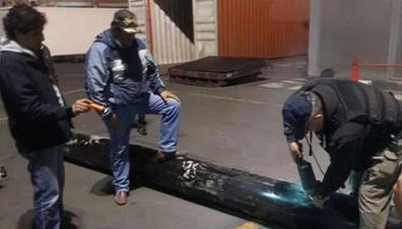 Policías de la Dirandro incautaron más de una tonelada de droga del cartel del Sinaloa. (Foto: Dirandro)