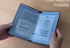 E-Readers   Así serían las pantallas plegables de tinta electrónica