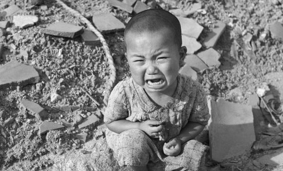 La explosión en Hiroshima dejó decenas de miles de muertos y de heridos. Foto: GETTY IMAGES, vía BBC Mundo