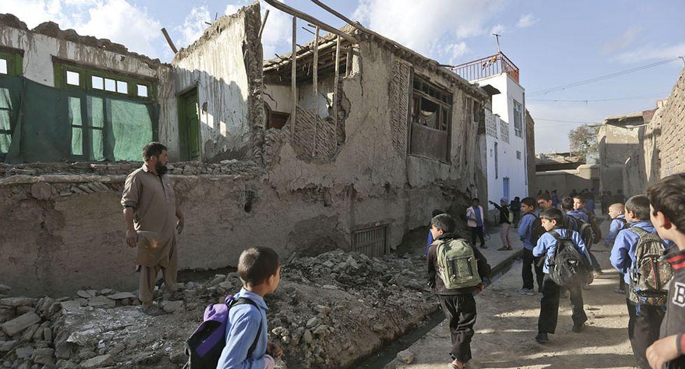 Terremoto de 7,5° en Asia: El desastre que dejó el remezón - 3