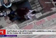 Junín: detienen a sujeto por agredir a su pareja dentro de vivienda en Huancayo