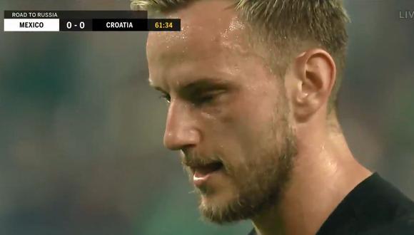México vs. Croacia: así fue el gol de Ivan Rakitic en el amistoso | VIDEO