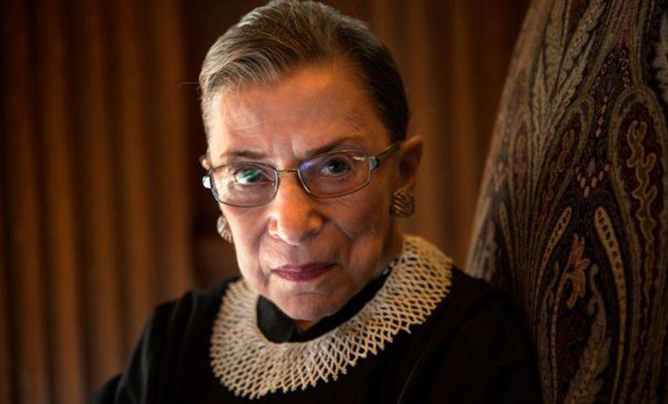 RGB es la jueza más veterana del máximo tribunal de Estados Unidos. (THE WASHINGTON POST vía BBC)