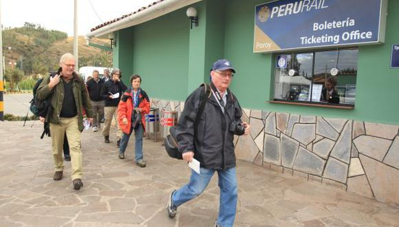 Las frecuencias conocidas como 21 y 22 del Tren Local no circularán desde la Estación de San Pedro e Izcuchaca, operándose únicamente en la ruta: Ollantaytambo-Machu Picchu-Hidroeléctrica y viceversa. (Foto: archivo)