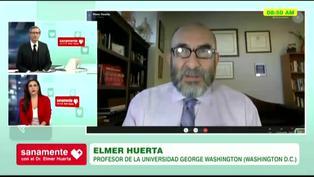 Elmer Huerta le da la bienvenida a Federico Salazar tras superar la COVID-19