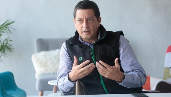 Luis Felipe Castellanos destacó que fueron más de 50 mil personas las que utilizaron la billetera digital Tunki para recibir el pago del bono de 380 soles. (Foto: GEC)