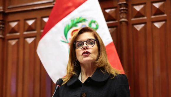 Mercedes Araoz asumió el 30 de setiembre la encargatura de la presidencia por parte del Congreso. Sin embargo, renunció al día siguiente. (Foto: Congreso de la República)