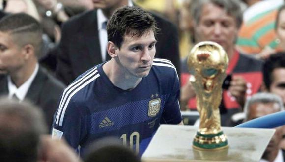 Messi quedó segundo con Argentina en el Mundial Brasil 2014. (Foto: Getty Images)