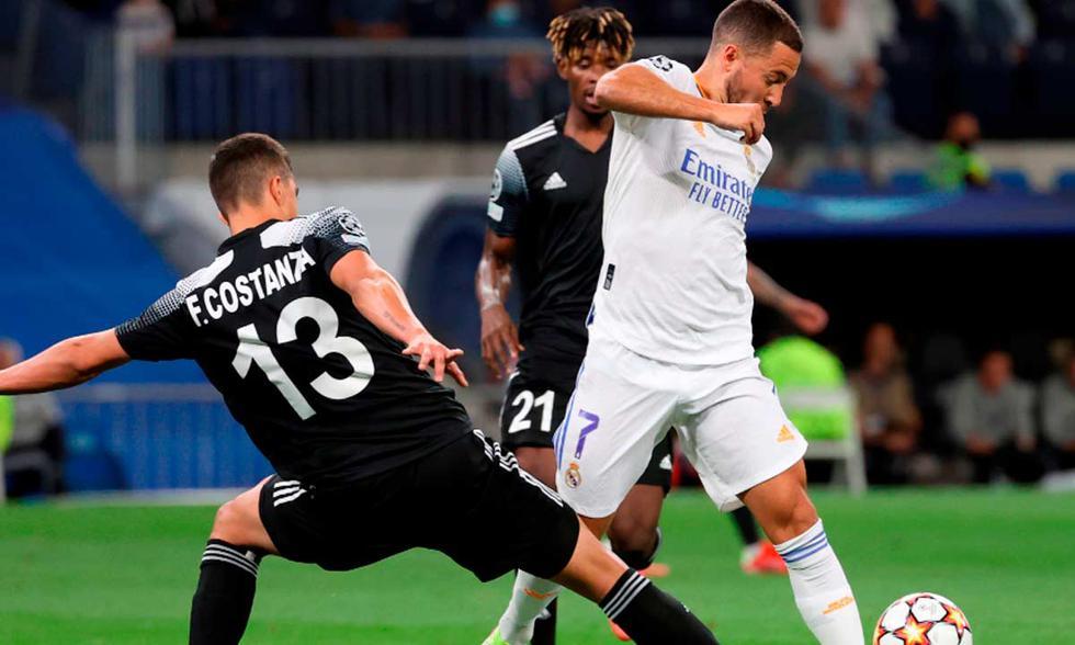 Real Madrid y Sheriff se enfrentaron por la jornada 2 de la Champions | Foto: EFE.