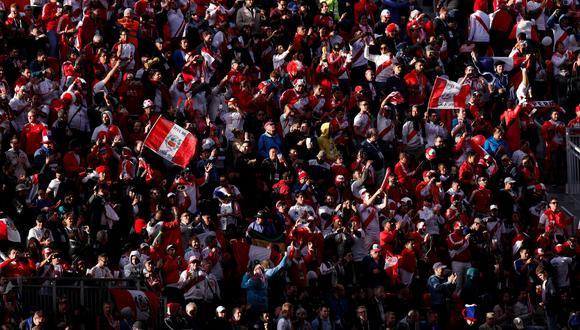 Perú vs. Francia: las postales de los hinchas en el Ekaterimburgo Arena. (Foto: Reuters)