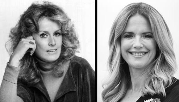 Diana Hyland y Kelly Preston vivieron una historia de amor con John Travolta en épocas distintas. El cáncer de mama las arrebató de su lado. (Foto: Wikimedia/AFP)