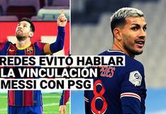 Leandro Paredes ya no quiere hablar del posible paso de Lionel Messi a PSG