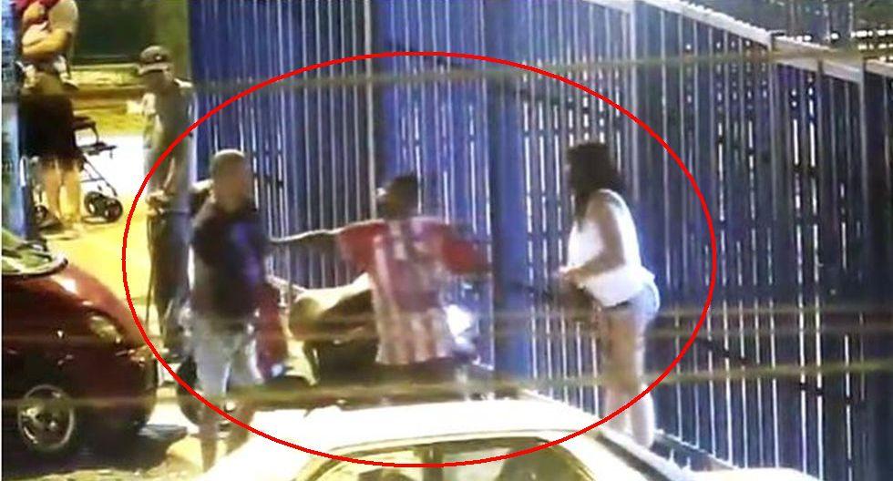 Julio César Rojas Mogollón fue detenido, liberado y luego recapturado por la Policía tras esta escena que fue captada por un video de seguridad.