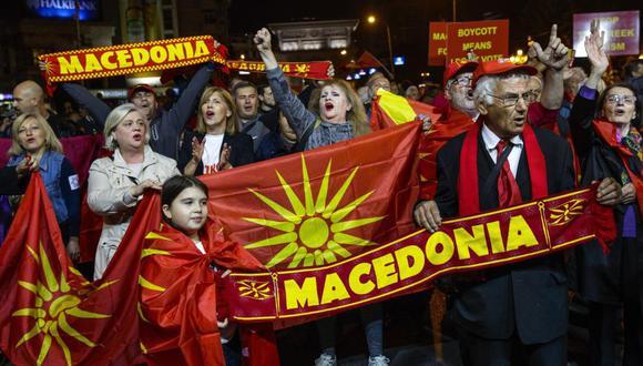 El referéndum en Macedonia fracasa por falta de participación (Foto: EFE)