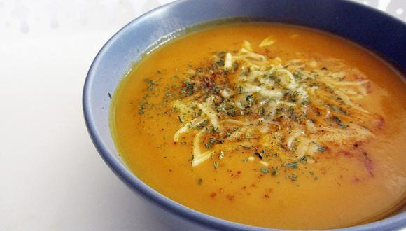 La crema de zanahorias es una sopa muy nutritiva y saludable. (Foto: Maatkare en Pixabay)