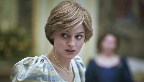 """Emma Corrin en el rol de la Princesa Diana de Gales, cuyos conflictos son parte fundamental en """"The Crown"""" temporada 4. (Fotos: Netflix)"""