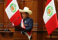 Pedro Castillo: Así fue su primer mensaje a la Nación ante el Congreso | VIDEO