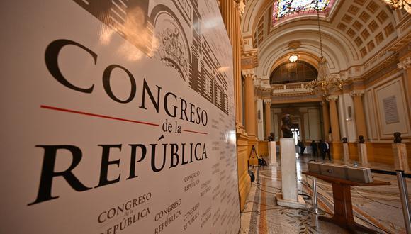 Este jueves 4 de febrero se podría eliminar la inmunidad parlamentaria que tienen los congresistas de la República. (Foto: AFP)