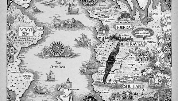 Sombra y hueso: explicación del mapa de Shadow and Bone, locaciones y  reinos | Series de Netflix | nnda nnlt | FAMA | MAG.