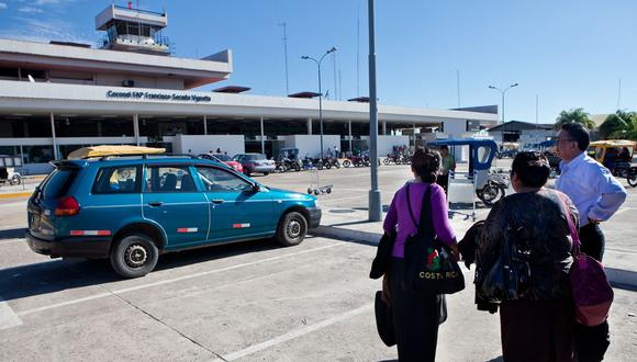 Aeropuerto de Loreto. (Foto: GEC)